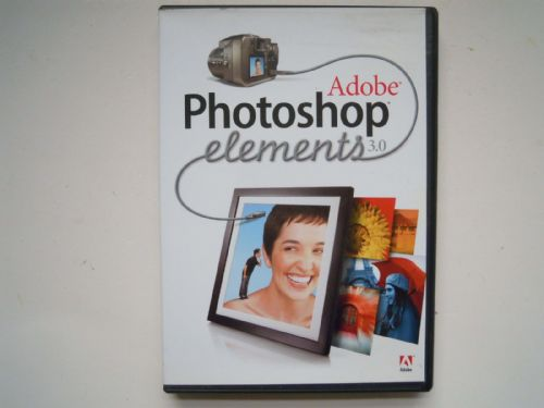 ADOBE PHOTOSHOP ELEMENTS 3.0 DVD